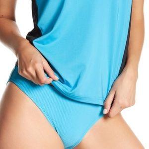 Nike Ribbed Bikini Bottoms